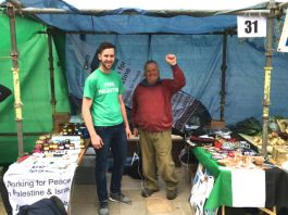 Jack and Liam at OC4P Stall Oban & Lorn Lions Charities Day 2016
